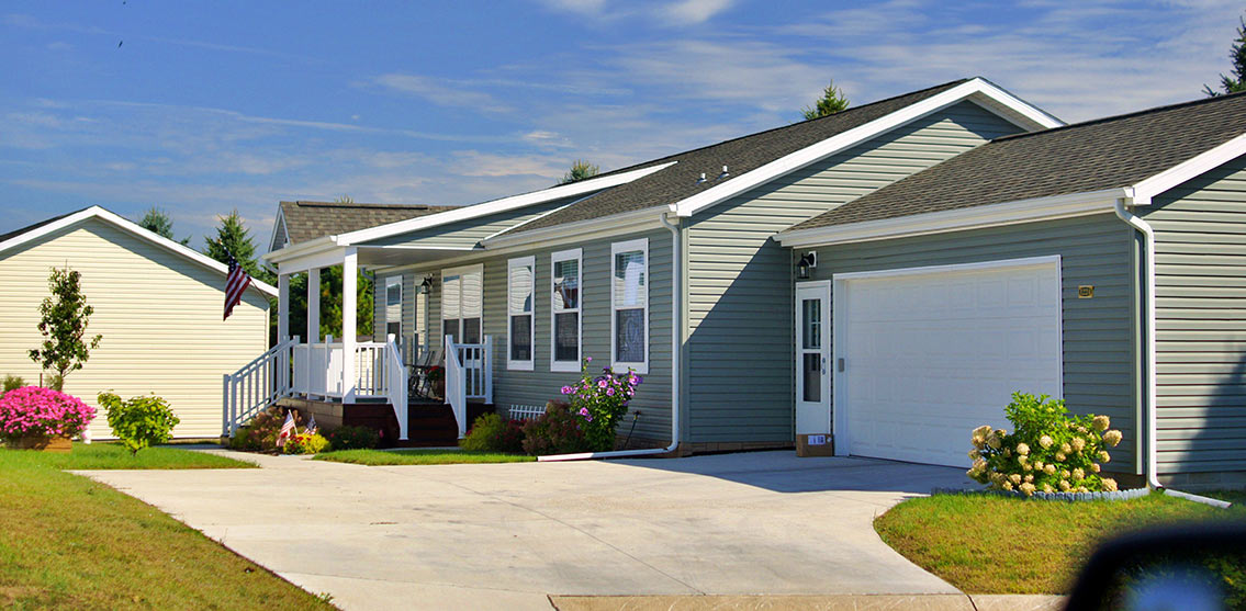 Manufactured housing is affordable.